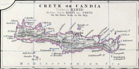 Map Candia